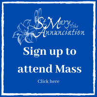 Sign up to attend Mass