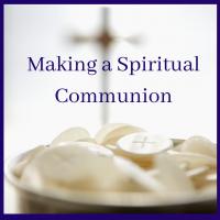 Spiritual Communion sm